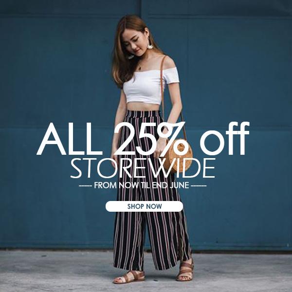 GSS 25% OFF STOREWIDE