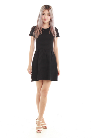 Joela Knit Dress in Black