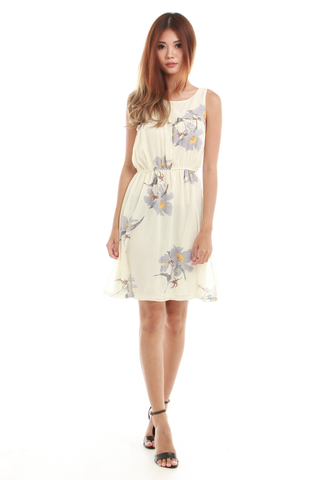Brooke Summer Dress in White