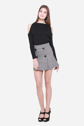 Lucy Knit Top in Black
