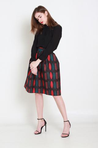 Bouquet of Beauty Midi Skirt
