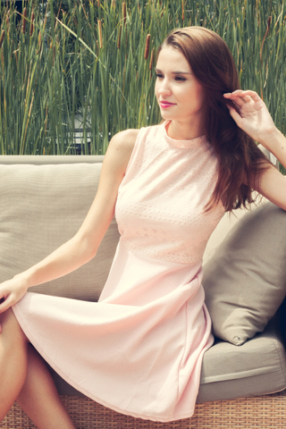 Take The Cake Dress in Rose