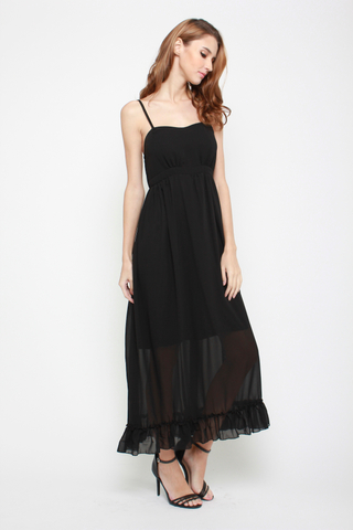 So Long Maxi Dress in Black