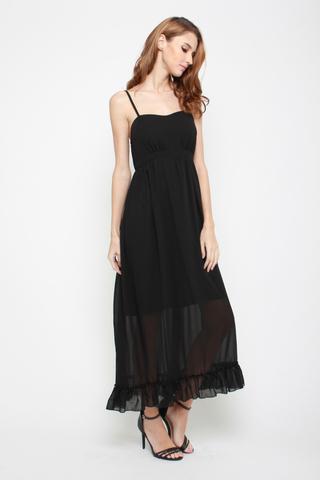So Long Maxi Dress in Black