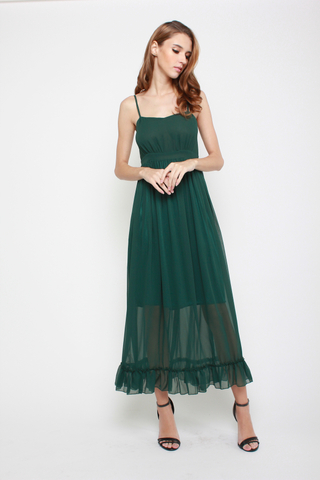 So Long Maxi Dress in Emerald
