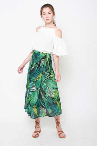 It's a Tie Maxi Skirt in Tropicana