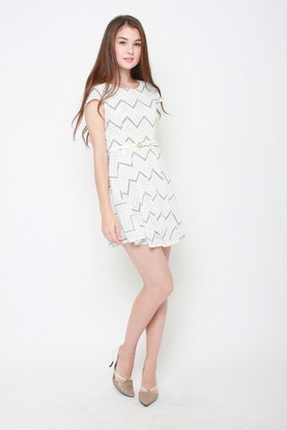 Ziggety Zag Work Dress
