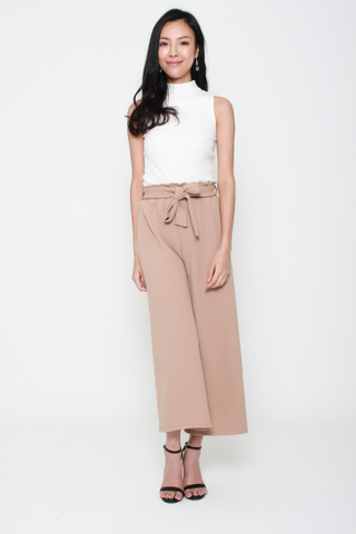 Getting on the Wide Side Culottes in Sand
