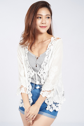 Ally Lace Cardigan